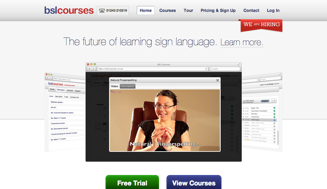 BSL Courses Website